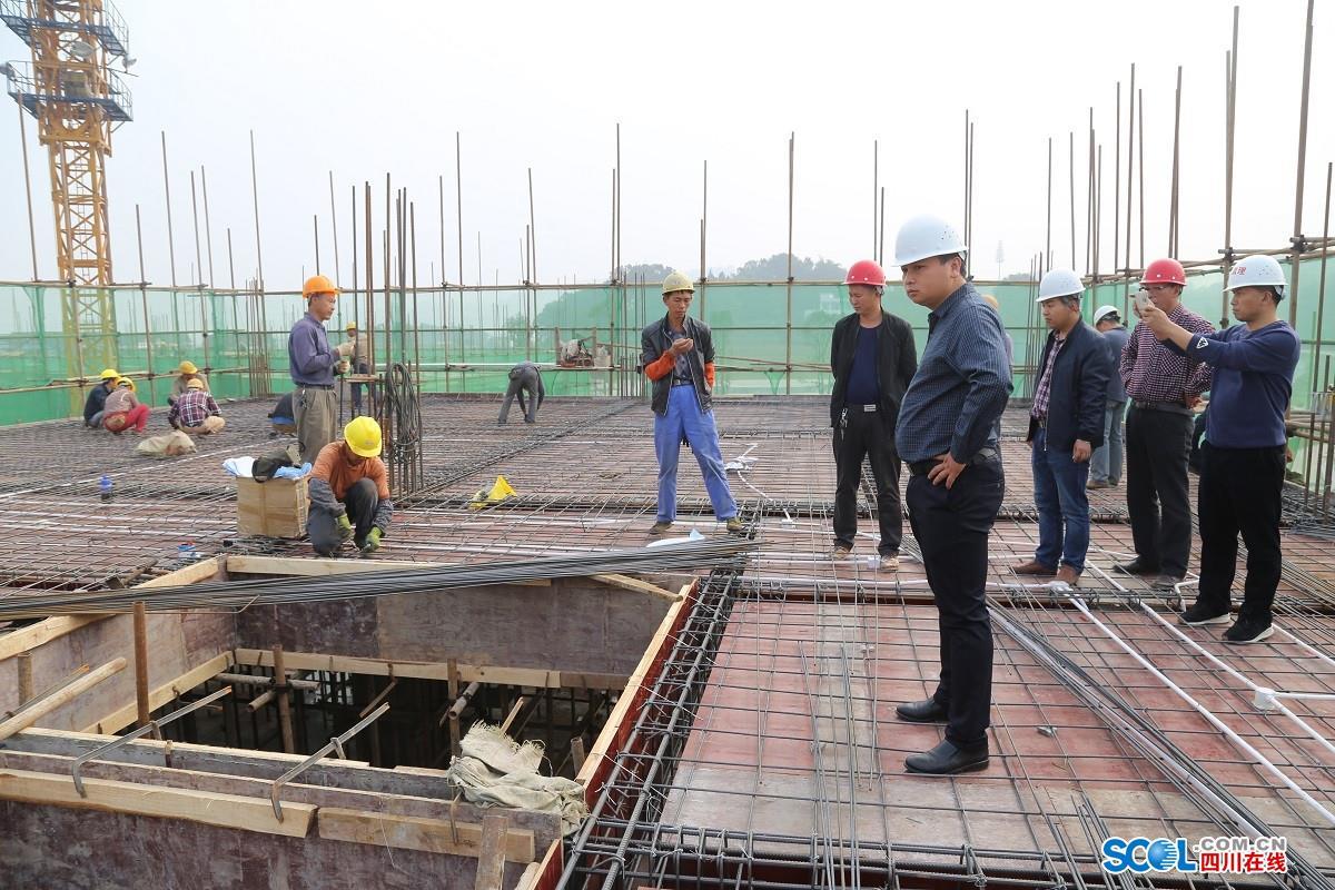 分水岭镇董允坝新村综合体建设进展顺利